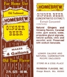 Ginger Soda Extract, 2fl Oz. (60ml.) Makes 4 Gallons