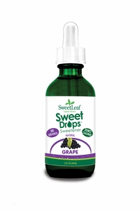 Grape Stevia Sweet Leaf Liquid - 60ml/2oz
