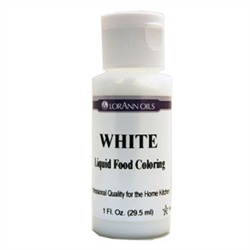 SALE PRICE! White Liquid Food Coloring - 1oz