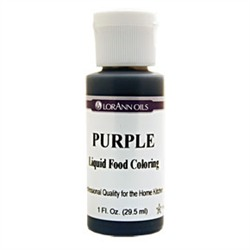 SALE PRICE! Purple Liquid Food Coloring - 1oz