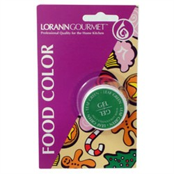 BOGO!!  LorAnn Oils Green Gel Food Coloring - 1oz