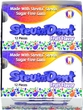 NEW!!! Stevita SteviaDent Sugar Free Natural Fruit Gum - Case(12 pcks with 12 pcs. in each pack)