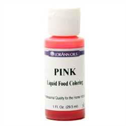 SALE PRICE! Pink Liquid Food Coloring - 1oz