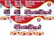 Stevita SteviaDent Sugar Free Natural Cinnamon Gum - Bundle..Buy 3 Packs/Get 1 Free
