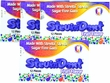 NEW!!! Stevita SteviaDent Sugar Free Natural Fruit Gum - Bundle..Buy 3 Packs/Get 1 Free