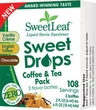 "Sweetleaf ""Coffee & Tea"" 3 Pack Trial Size Liquid Drops - .2oz each"