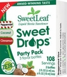 "Sweetleaf ""Party"" 3 Pack Trial Size Liquid Drops - .2oz each"