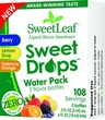 "Sweetleaf ""Water"" 3 Pack Trial Size Liquid Drops - .2oz each"