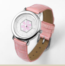 Montreux Genuine Pink Leather Medical Alert Watch for Ladies - Item PF1011