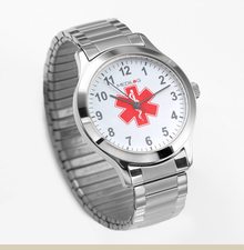 Stainless Steel Mens Medilog 7 Inch Watch - Item SP1061