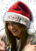 Personalized Santa Hat with Smooth Cuff