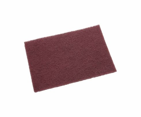 3M 048011-04229 Scotch-Brite 7447B Maroon General Purpose Pad - 60 Pad/Case