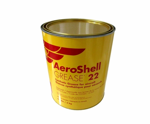 AeroShell Grease 22 Advanced General Purpose Aircraft Grease - 6.6 lb Can
