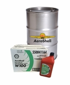 AeroShell Oil W100 SAE Grade 50 Ashless Dispersant Aircraft Oil