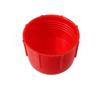 Caplug CD-20 Red 1-5/8-12 Threaded Plastic Dust & Moisture Cap (CLEARANCE)