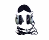 David Clark 40411G-01 Model H10-13.4 Mono 5-Foot Straight Cord Aircraft Headset