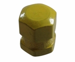 Dill Air Controls 637 Yellow Brass Aircraft Valve Cap