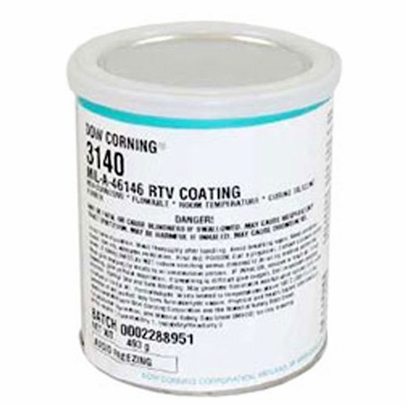 Dow Corning RTV-3140 Clear Silicone Sealant - 493 Gram Can