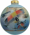 Gift of Wings 147 Freedom of Flight Eagle Montage Christmas Tree Ornament