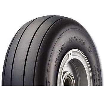 Goodyear 505C01-2 Flight Special II Aircraft Tire 5.00-5 - 10 Ply