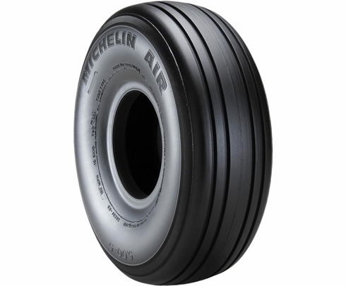 Michelin 070-308-0 Air 5.00-5-4 Ply 120 mph Aircraft Tire
