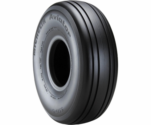Michelin 071-311-0 Aviator 5.00-5-10 Ply 120 mph TT/TL Aircraft Tire