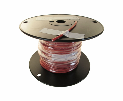 Military Specification M22759/16-12-2 Red 12 AWG Tefzel Hook Up Wire