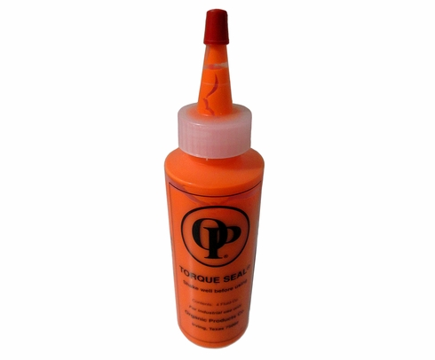 Organic Products F-900 Orange Torque Seal - 4 oz Bottle
