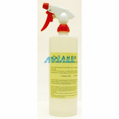 RPM Technology eOx Aircraft Hydraulic Fluid Remover - 32 oz Trigger-Spray Bottle