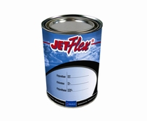 Sherwin-Williams F09028QT JETFlex Water Reducible Flat Paint Black BAC706 - Quart