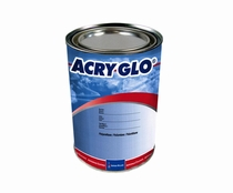 Sherwin-Williams W01086 ACRY GLO Conventional L/F Orange Acrylic Urethane Paint - 3/4 Quart