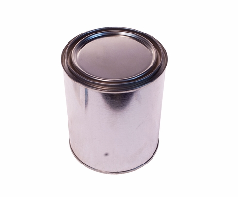 SkyGeek 1817 Metal Paint Can with Lid - Quart