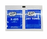 Zip Chem 001938 Calla X-405 EPA DfE Approved Glass & Transparency Cleaner - 8 Gram Wet/Dry Tandem Pack