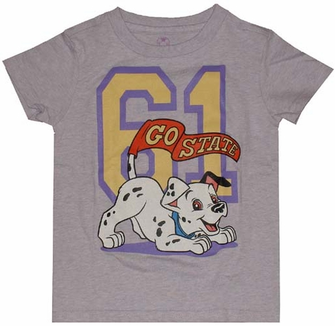 101 Dalmatians Go State Youth T-Shirt
