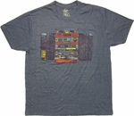 1980 Stereo System T Shirt Sheer