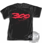300 Movie Logo T-Shirt
