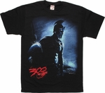 300 Rise of an Empire Spartan Rain T Shirt