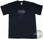 420 Navy Outline T-Shirt