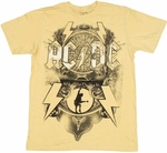 ACDC Black Ice T-Shirt Sheer