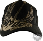 ACDC Guitar Wings Hat