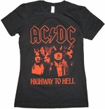 ACDC Highway Hell Baby Tee