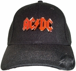 ACDC Metal Logo Hat