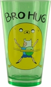 Adventure Time Bro Hug Pint Glass