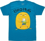 Adventure Time Bro Hug T Shirt Sheer