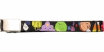 Adventure Time Cast Black Mesh Belt