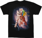 Adventure Time Cat Ride T-Shirt