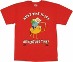 Adventure Time Dap T Shirt