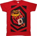 Adventure Time Duo Scream T Shirt Sheer