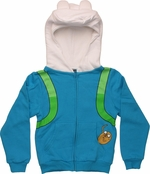 Adventure Time Finn Costume Youth Hoodie