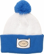 Adventure Time Finn Cuff Pom Beanie